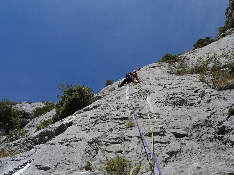 alpinism cheile verdon, franta