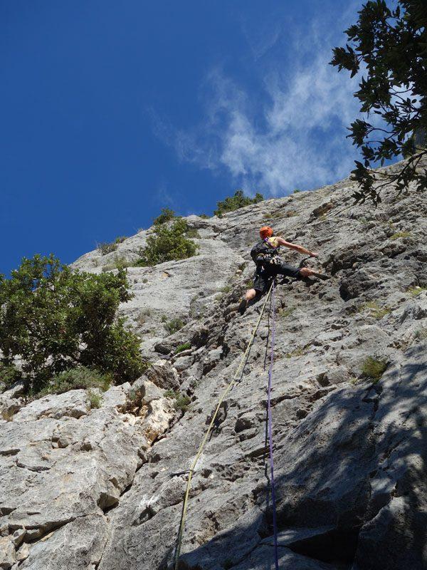 escalada alpinism verdon franta