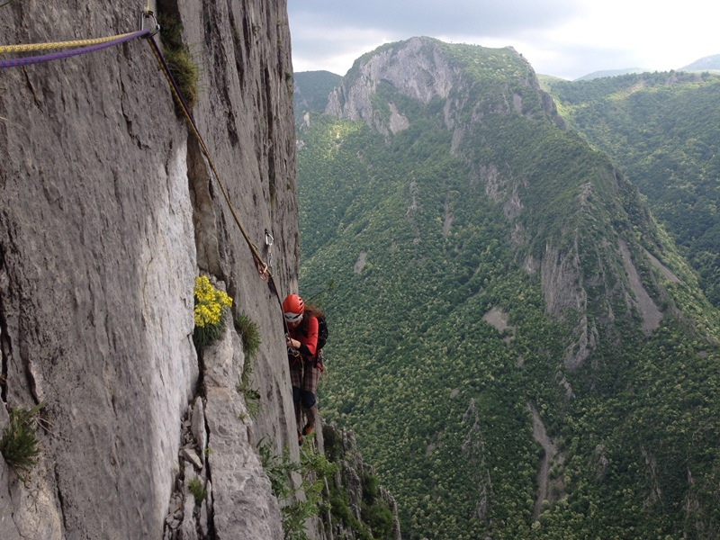 alpinism bulgarian central wall