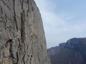 climbing in vratsa, bulgaria, central wall routes