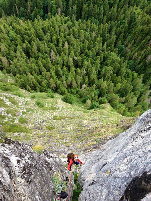 hornul cheie requie, alpinism cheile bicazului