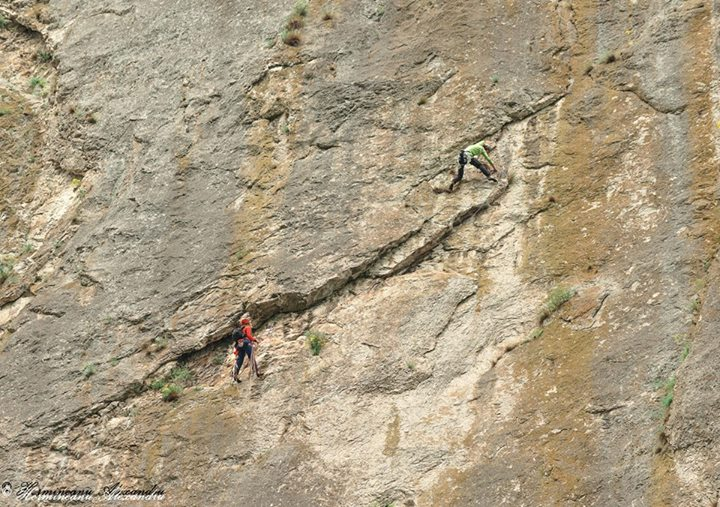 alpinism vaja con dios cheile turzii