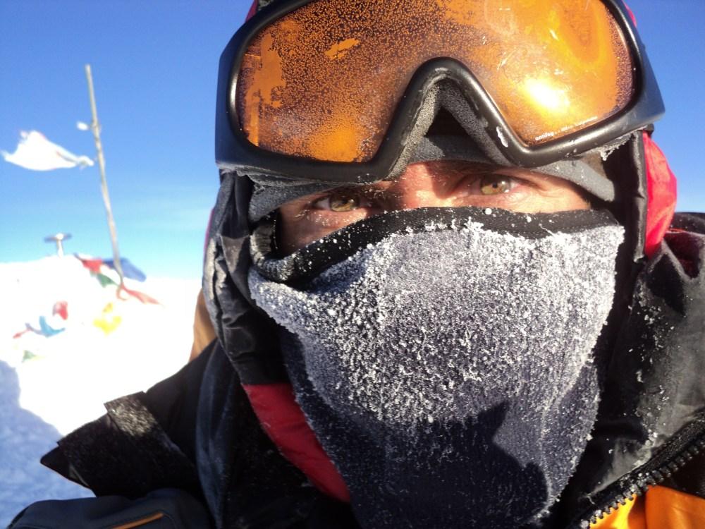 Interviu Cosmin Andron, despre alpinism portret