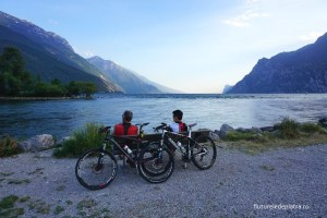 trek cu bicicleta in zona Arco, Valea Sasca