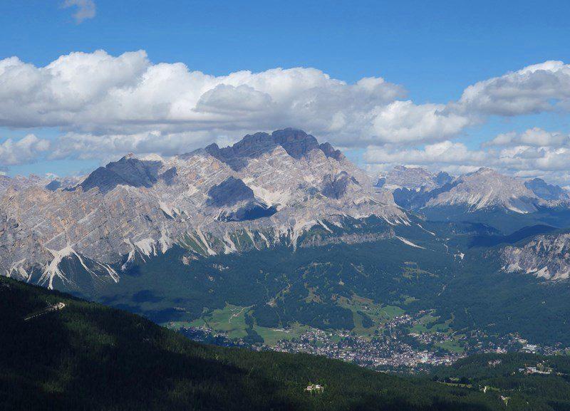 Grupul Poganon, Dolomiti si Cortina d'Ampezzo