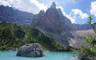 tură Lacul Sorapiss, Cime di Marcoira