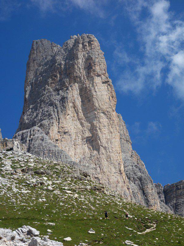 Cima Piccola, Tre Cime di Lavaredo, Dolomiti trekking italia