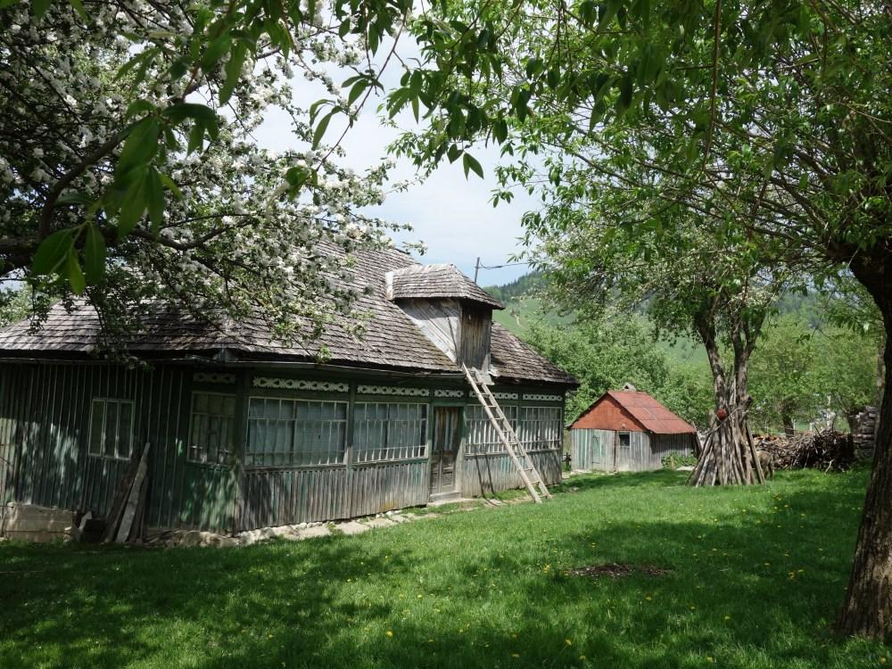 casă tradițional românească din Satul Măgura, Piatra Craiului muntenească