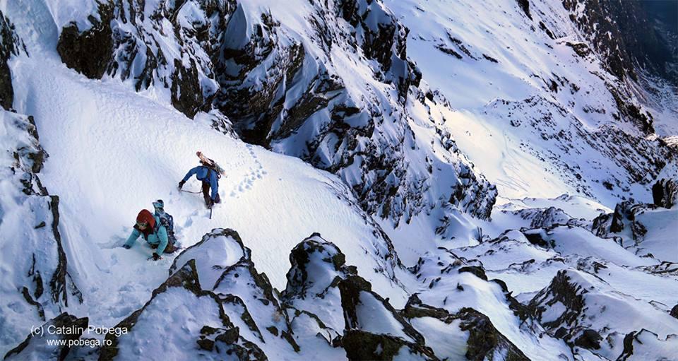 RUdolf Nagy la schi alpinism pe abrupturile Bucegilor, interviu