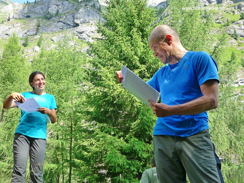 pregătirea echipei de montaniarzi pentru brâurile Morarului, Munții Bucegi