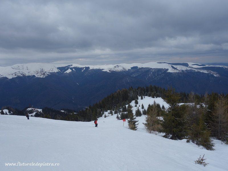 pârtia de schi de la cota 2000, Sinaia, ski de tură