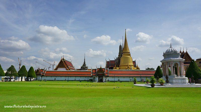 Grand Palace, palatul imperial din Bankok, Phra Borom Maha Ratcha Wang, Thailanda