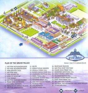 harta grand palace, Wat Phra Kaew, bangkok thailanda
