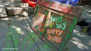 happy shake, băutură cu îmbunătățiri de ciuperci sau cânepă, droguri în Ton Sai, Krabi