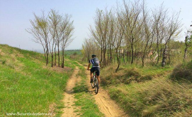 Cu bicicleta pe lângă Sărata Monteoru & Merei, Buzău