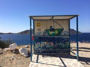 stație tematică de autobuz kalymnos, massouri