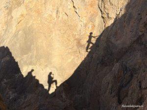 siluetele Ioanelor, sector Iannis, escalada kalymnos grecia