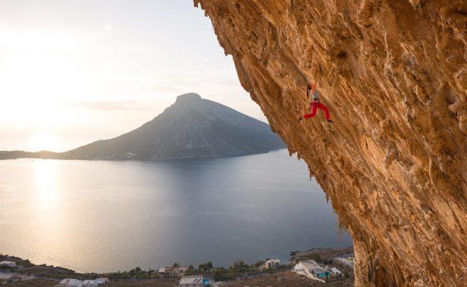 Escaladă printre stalactite în Kalymnos, insula cățărătorilor – Grecia