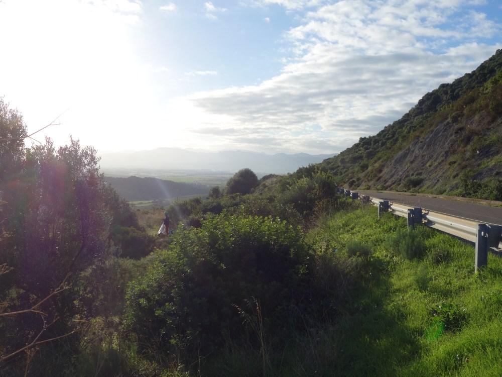 loc spontan de cort cu priveliște de milioane, Sardinia vacanta