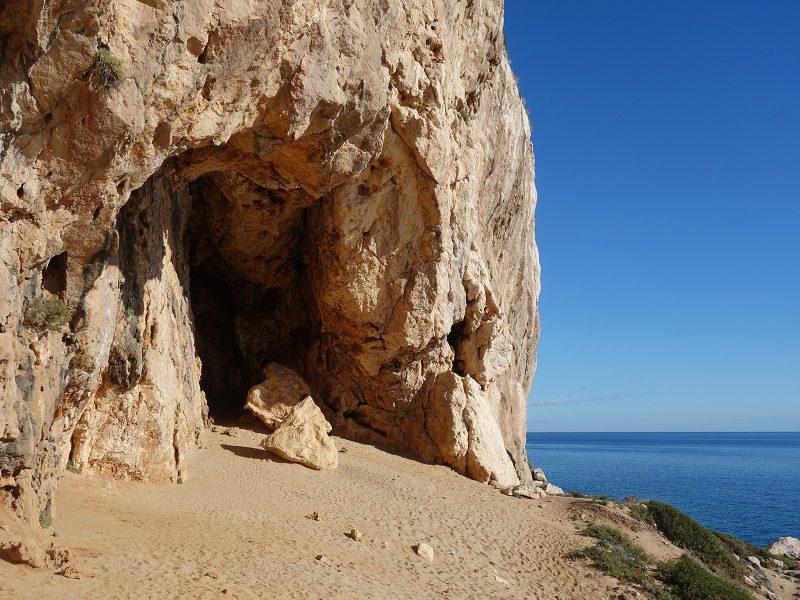 Biddiriscottai, escaladă sportivă în Sardinia, Cala Gonone, Italia