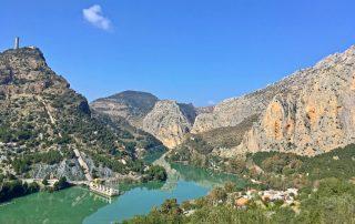 escalada in El Chorro, Spania - Caminito del Rey