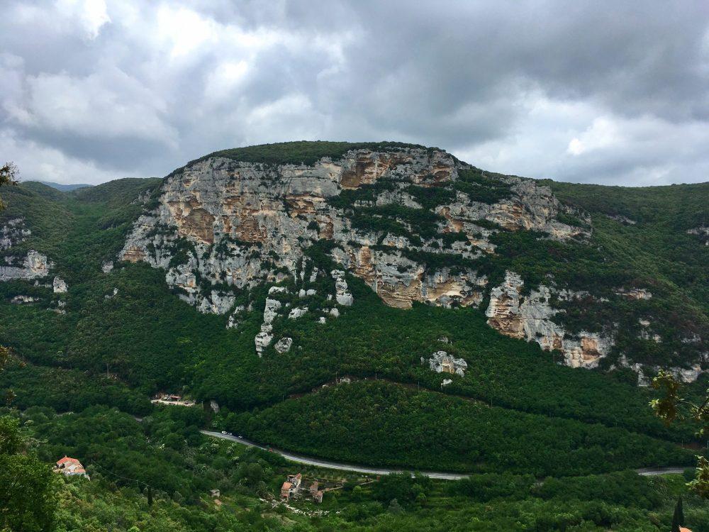 peretele Bric Pianarella, Finale Ligure escalada
