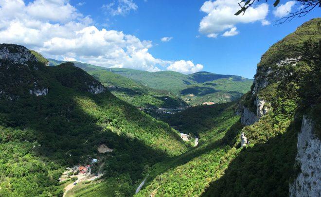 Escaladă în Finale Ligure, Italia
