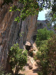 Paret de les Bruixes, escalada Spania