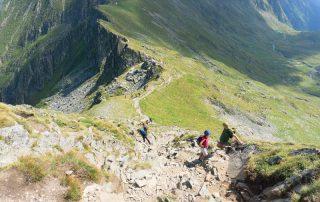 cel mai scurt traseu spre Vârful Moldoveanu