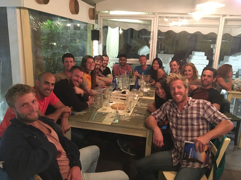 escaladă Kalymnos, cățărat Grecia Massouri