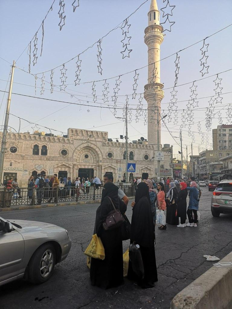 Moschee in centrul Amman, Iordania