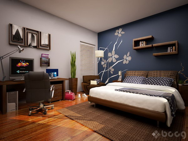 Treatments Ideas White Black Wall And