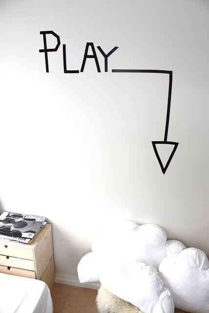 20 Diy Washi Tape Wall Art Ideas