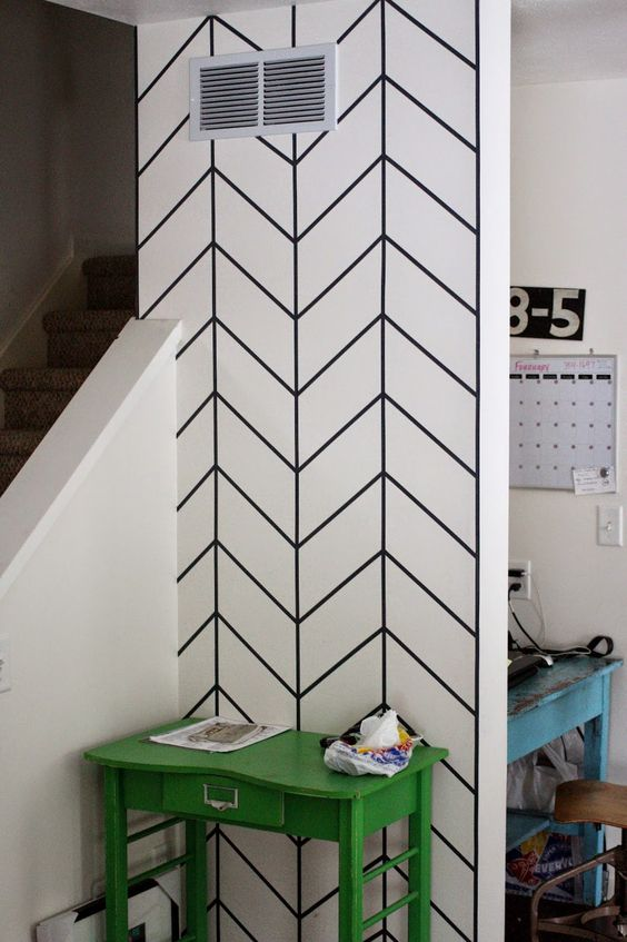 Wall Tape Art