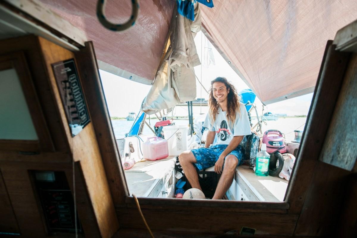 Reece Senda Boat Life FLUX Hawaii the sea