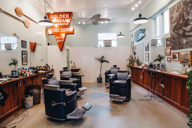 FLUX Golden Hawaii Barbershop