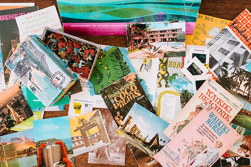 vintage hawaii postcards