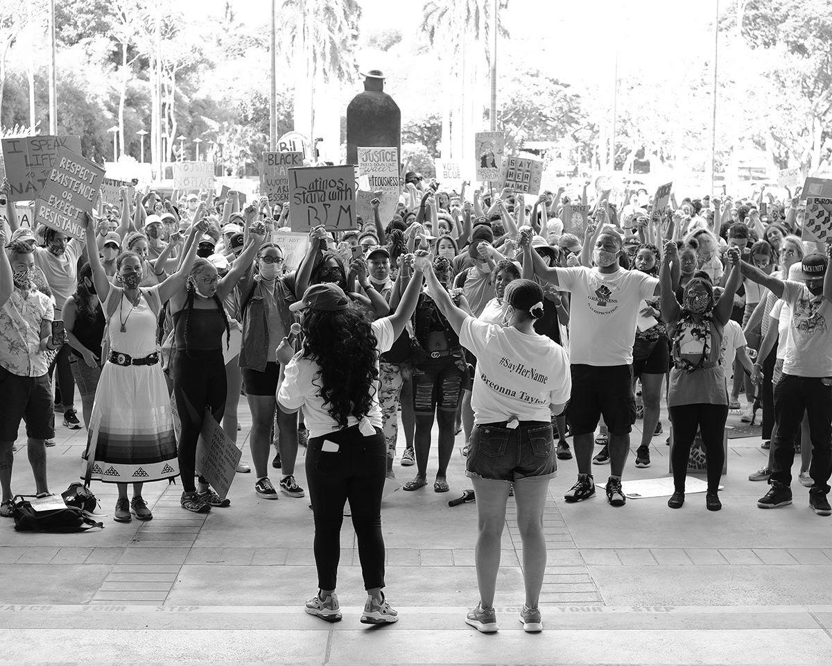 black lives matter hawaii protest