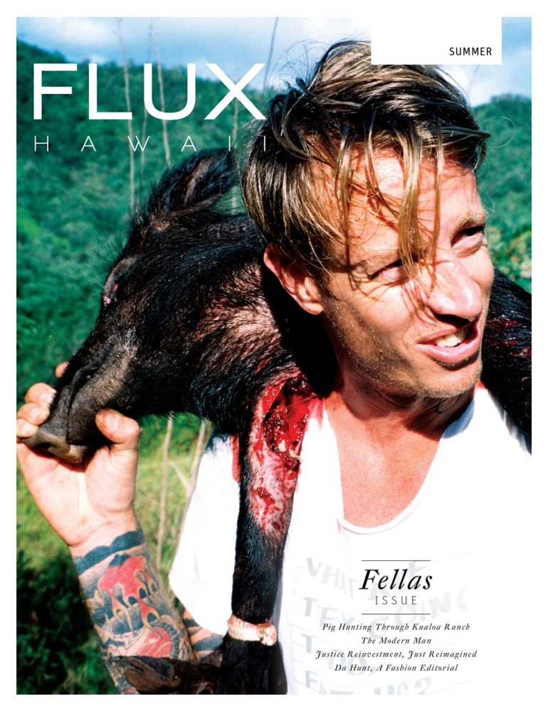 FLUX Cover of Issue 10: Fellas