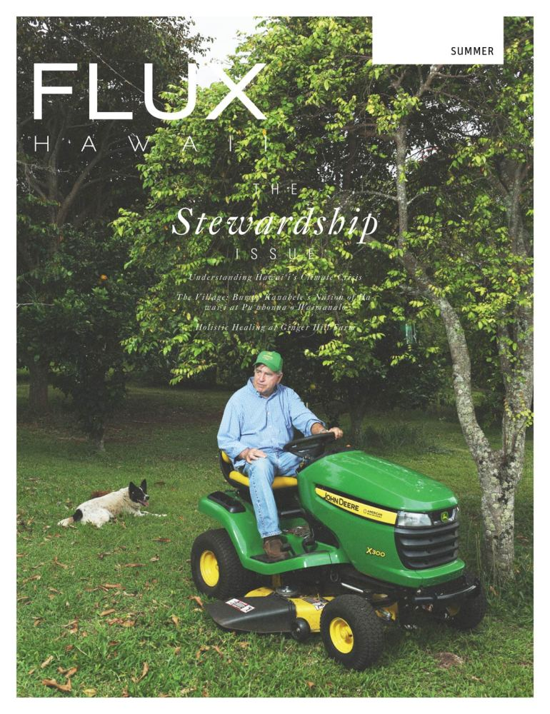 FLUX Cover of Issue 14: Stewardship