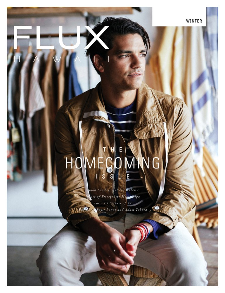 FLUX Cover of Issue 16: Homecoming