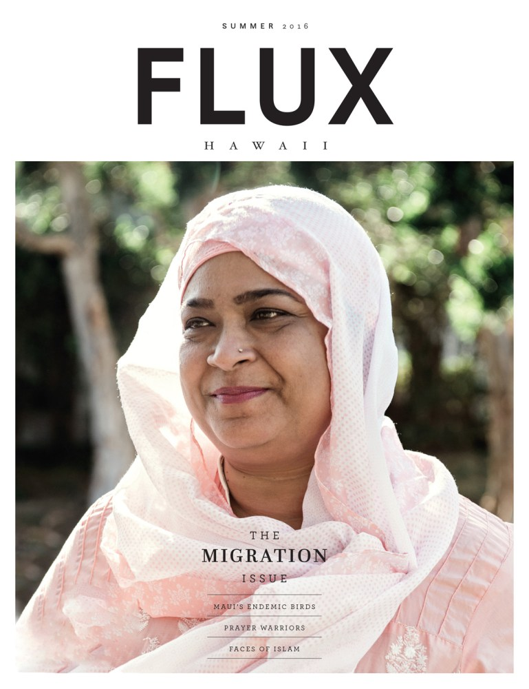FLUX Cover of Issue 26: Migration