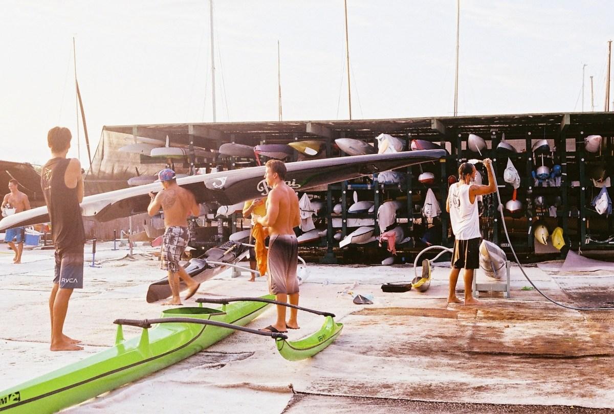 No Koa O Kona FLUX Hawaii outrigger team