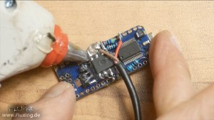 floating wiring: Arduino nano with optocoupler MCT6 and resistors gets treatment with hot glue