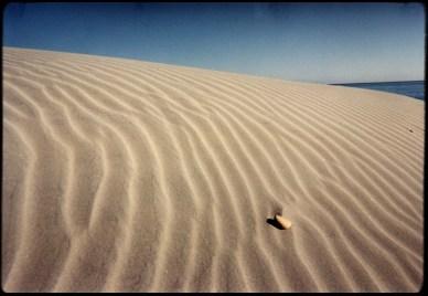 """Sand and Stone"", 1999, Santa Rosa Island, Ca, Landscape/Light studies series, C–print"