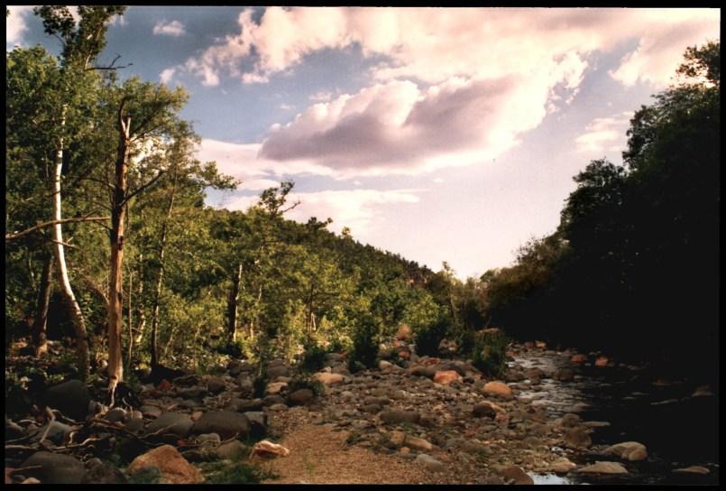 """Sedona Canyon"", 1997, Sedona Arizona, Landscape/Light studies series, C–print"