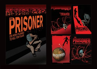 """The Prisoner"" Theatrical poster exploration, 2007, with Kustom Creative"
