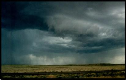 """Holbrook, Arizona Storm"", 1995, Holbrook, Az, Landscape/Light studies series, C–print"