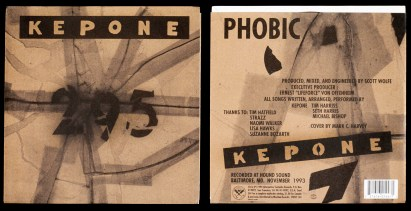 "Kepone, ""295"", 7"" Single, 1992, Alternative Tentacles Records"