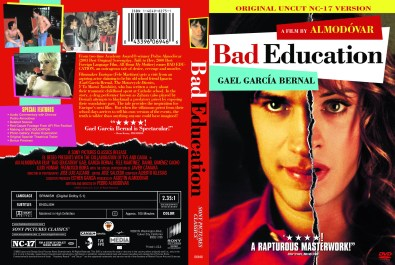 """Bad Education"", 2006, DVD Amaray, with KustomCreative.com"
